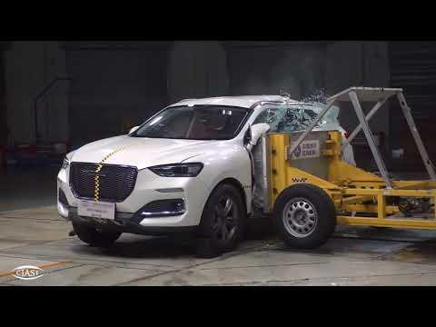 【视频】哈佛F5在CIASI碰撞测试成绩获差评