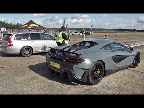 【视频】家用车对决超跑?沃尔沃V50 T5 vs迈凯伦600LT vs保时捷911 9FF