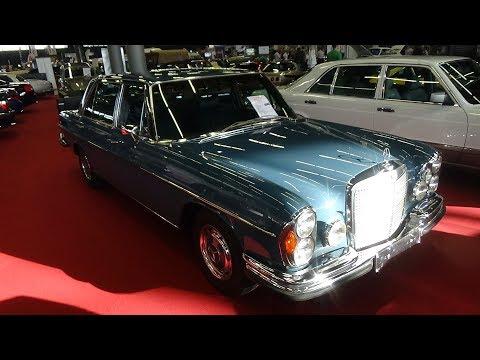 【视频】1971款奔驰300SEL实拍,经典值得细细品味