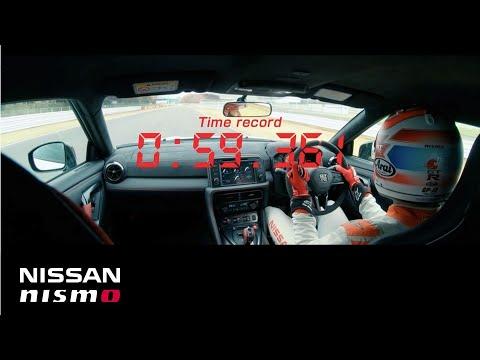 【视频】【�踊�】NISSAN GT-R NISMO 2020 筑波タイムアタック オンボ�`ド映像