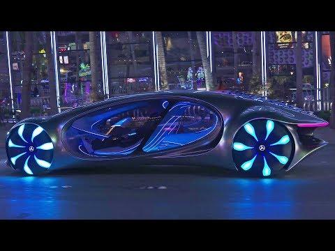 恶魔之子奔驰Vision AVTR概念车,已经登陆地球