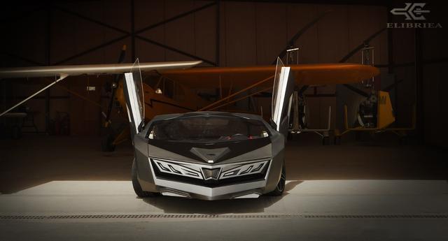 「金属计划」来自卡塔尔的Elibriea概念车,800匹马力!