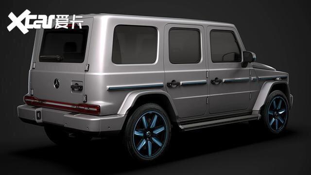 纯电驱动, 外形非常硬派, 全新奔驰G级纯电版渲染图曝光!