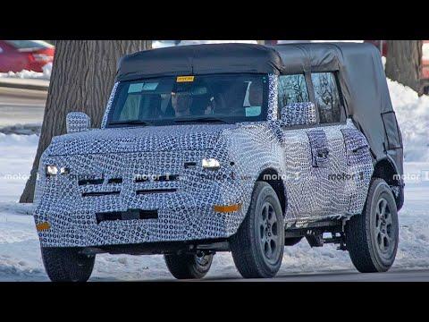 2021款福特Bronco Spy,这个颜值你觉得怎么样?