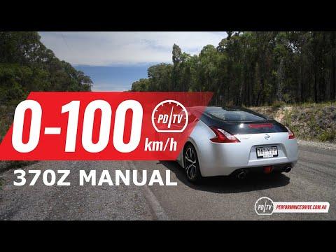 2020款日产370Z,0-100km/h加速展示!