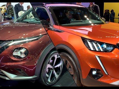 法系车与日系车之间真正的较量:全新标致2008 vs 日产Juke