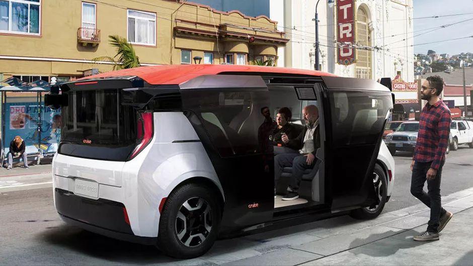 通用自动驾驶汽车部门Cruise发布Origin自动班车