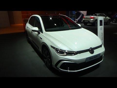新车展示,实拍2020款大众高尔夫GOLF,颜值爆表,不要太羡慕!