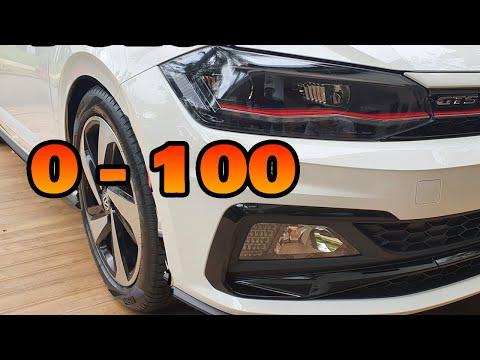"""1.4T的""""追击炮""""大众Polo GTs  0-100KMH加速测试,比高尔夫怎么样"""