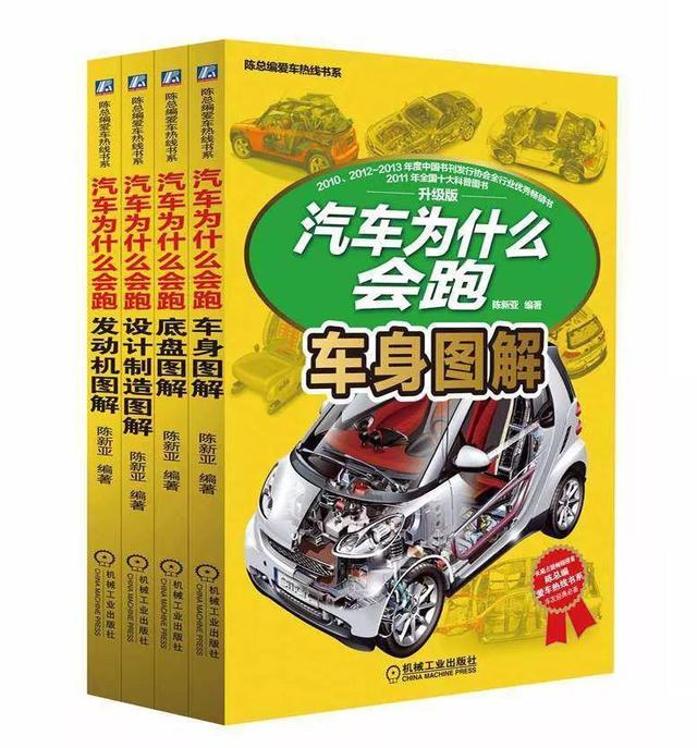 汽车为什么会跑?你知道吗?阅读这套书相信你会大有收获