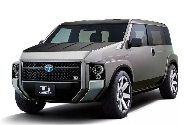 丰田Tj Cruiser量产车将于5月亮相 定位跨界中型SUV