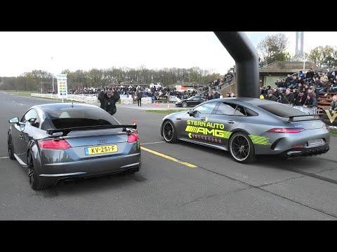 550马力奥迪TT RS Plus VS 梅赛德斯AMG GT63S