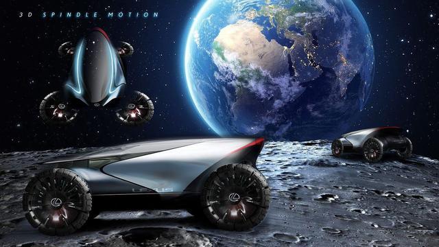 NASA新月球车招标 丰田和雷克萨斯给出答案