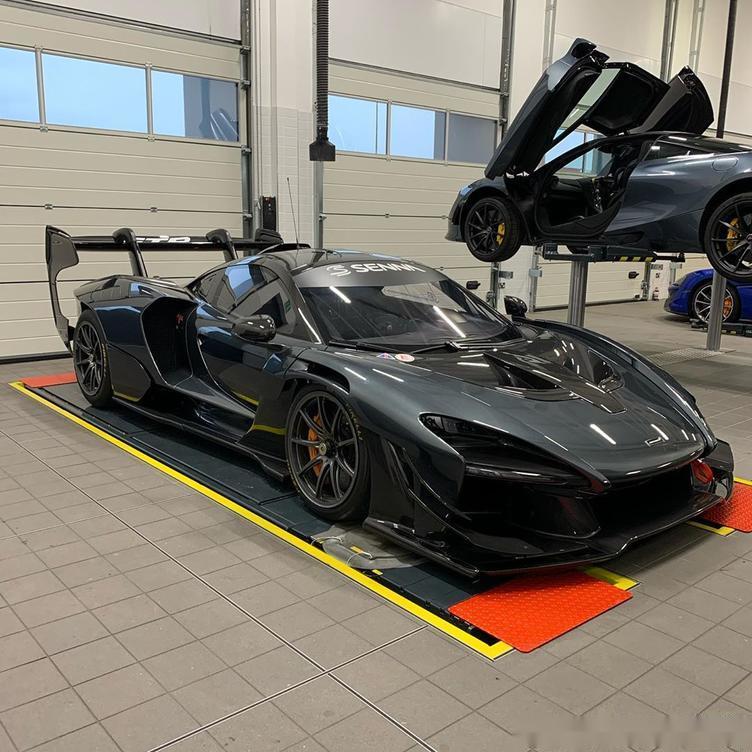 迈凯伦塞纳GTR实车 赛车化的造型