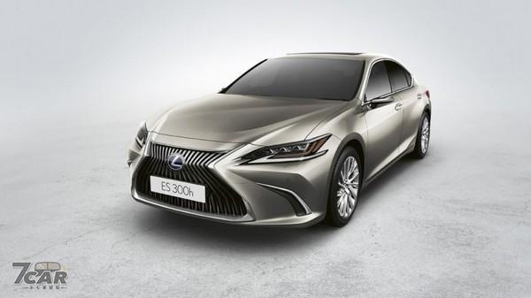 Lexus ES 300h数位后视镜欧洲开放选配 未来有望成标配?