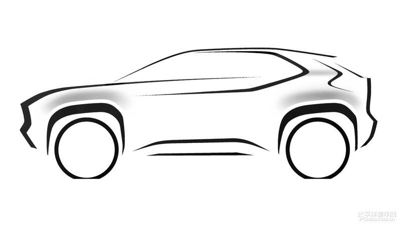 丰田发布全新 SUV 预告图 日内瓦车展首发