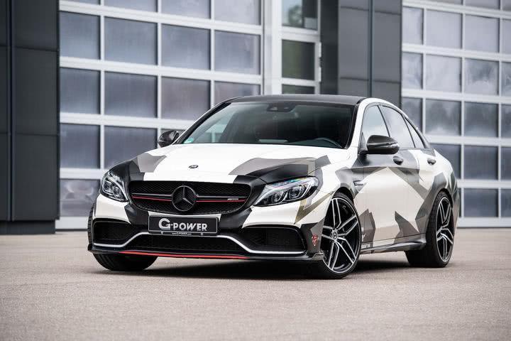 G-Power推出800hp改装版梅赛德斯AMG C63轿车