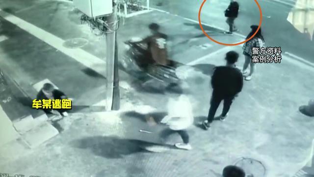陇南:未成年无证驾驶摩托车撞人并逃逸