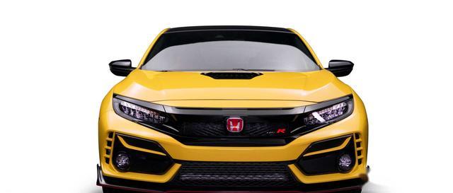 限量600台,全新本田思域Type R限量版亮相,凤凰黄配色非常漂亮