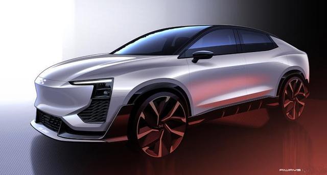爱驰U6 ion设计图曝光 将于日内瓦车展全球首发