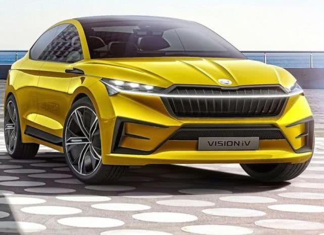 这个外形给几分?双动力输出可供选择,斯柯达全新轿跑SUV Enyaq即将亮相