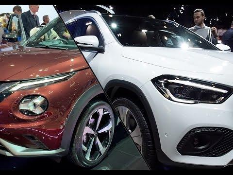 车展实拍:静态体验对比奔驰新 GLA vs 日产 Juke