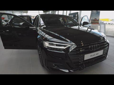 435马力奥迪A8 D5 Quattro,黑色尽显高贵气质