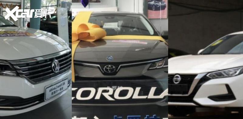 10万左右家轿, 选择销量巨头朗逸与轩逸, 还是经济担当卡罗拉?