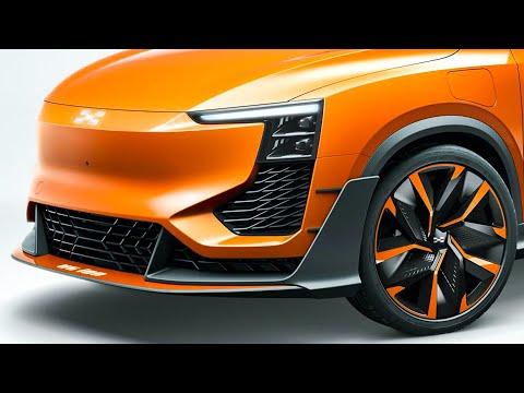 爱驰AIWAYS U6ion 百分百电动车,造型拉风颜值很高