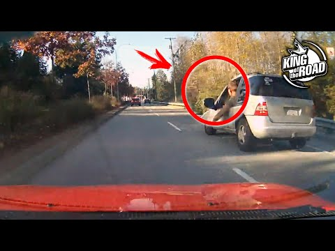 车祸合集:马路上开车不要随意做小动作,太危险了