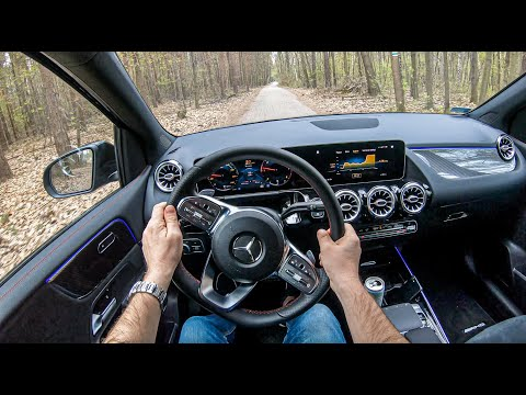 试驾第一视角:体验梅赛德斯奔驰B-Class,坐享S级豪华体验