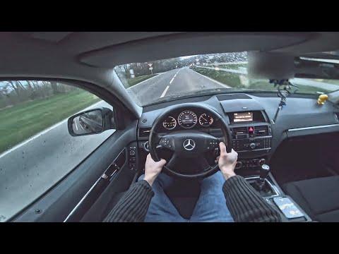 试驾第一视角:170马力梅赛德斯奔驰 C220开起来是什么感觉
