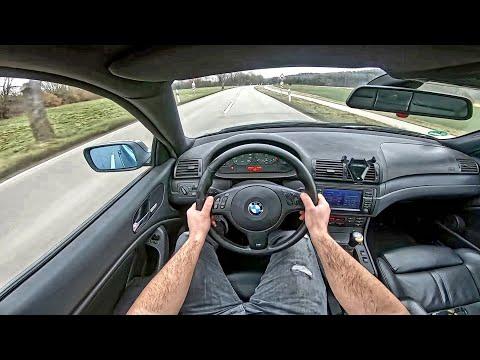 试驾第一视角:宝马320D E46,150马力全力开车