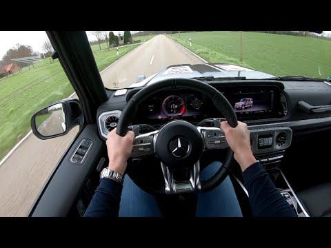 试驾第一视角:梅赛德斯奔驰 G63,这声浪听着就过瘾