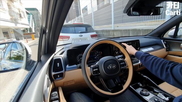第一视角试驾2020款起亚索兰托,开车上路那刻,才知道视野多宽阔