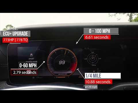 改装版E63 S AMG 加速测试!2.8秒轻松破百