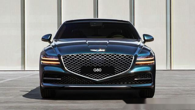 韩系豪华,新一代Genesis G80实车亮相,对标宝马5系、奥迪A6L