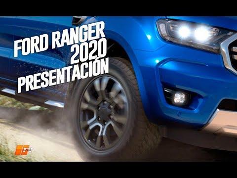 2020款福特Ranger实车试驾,外形内饰展示