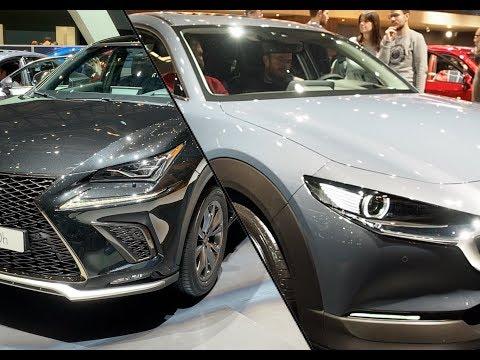 雷克萨斯 NX vs 马自达 CX 30,外形内饰全面对比