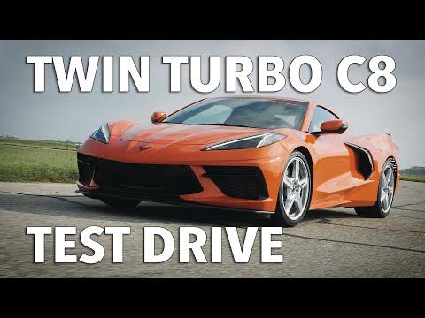 双涡轮C8 Corvette 试驾,这动力很强