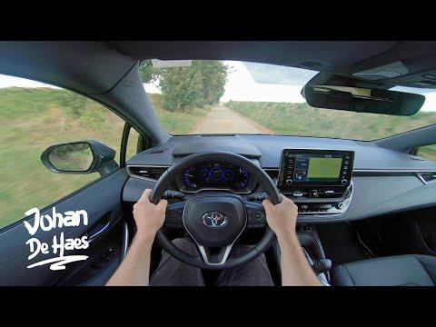 第一视角试驾:2020丰田卡罗拉掀背混合动力汽车,动力很强