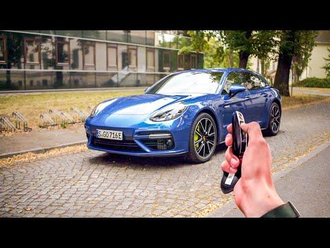 保时捷也插电!Panamera E-Hybrid,4.0升V8双涡轮,3.4秒便破百