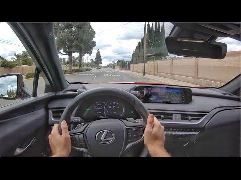 年轻帅气 高端舒适座驾 第一视角试驾2020款雷克萨斯UX250h FSport,运动豪华两不误