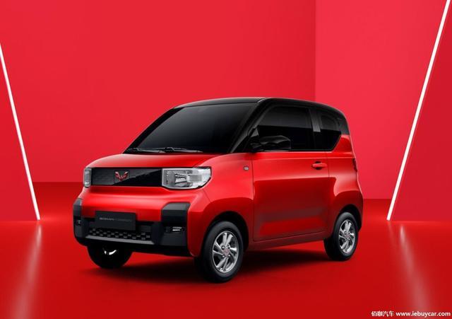 """""""高颜值微型车""""宏光MINI EV官图发布 两种续航里程170km/120km"""