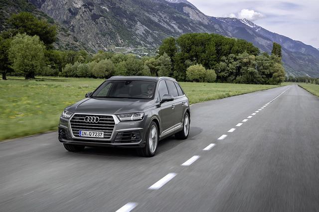 奥迪Q7推出S line进化版限量车型 整车可全轮转向