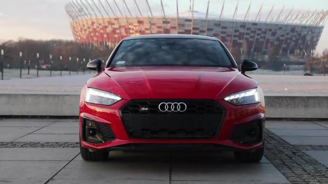 全新奥迪 S5 SPORTBACK - 700Nm的红色猛兽,完美的车身比例!