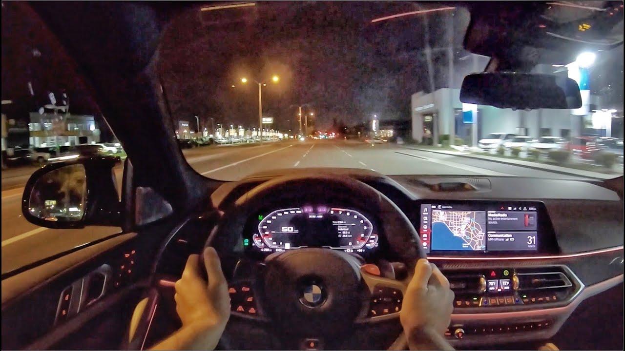 2020款 宝马 BMW X6 M Competition赛道版 第一视角测试声浪试驾