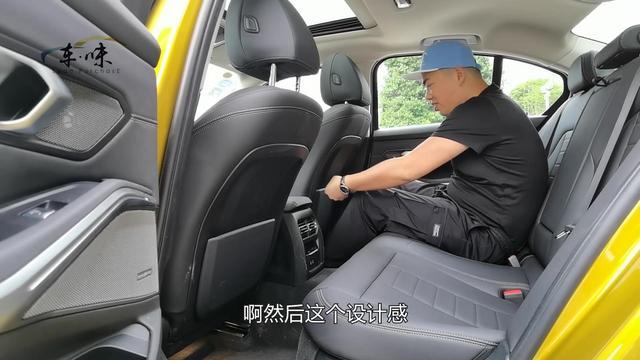 新旧宝马3系PK,新款车身加长,即使标轴版后排空间也让人满意