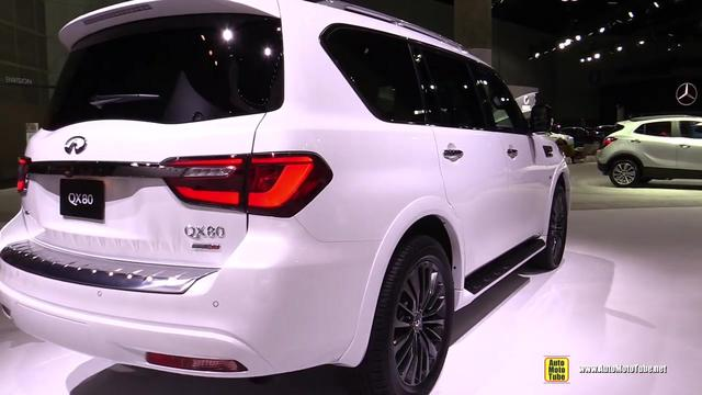 2020款全新英菲尼迪QX 80,科技感十足空间宽敞,豪华SUV性价王!