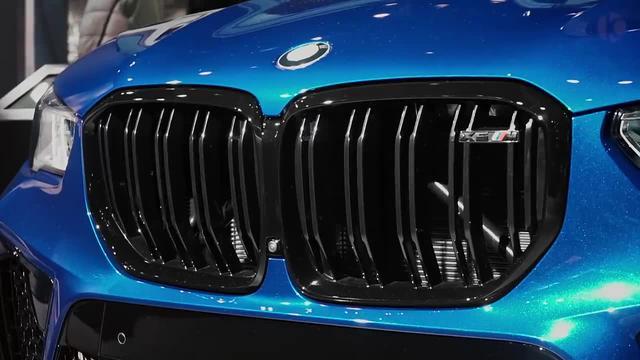 2020 宝马 X5 M 奢华的SUV
